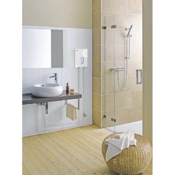 Chauffe eau instantan 7kw r glage tactile kgt pour douche vier kgt france - Chauffe eau electrique instantane douche ...