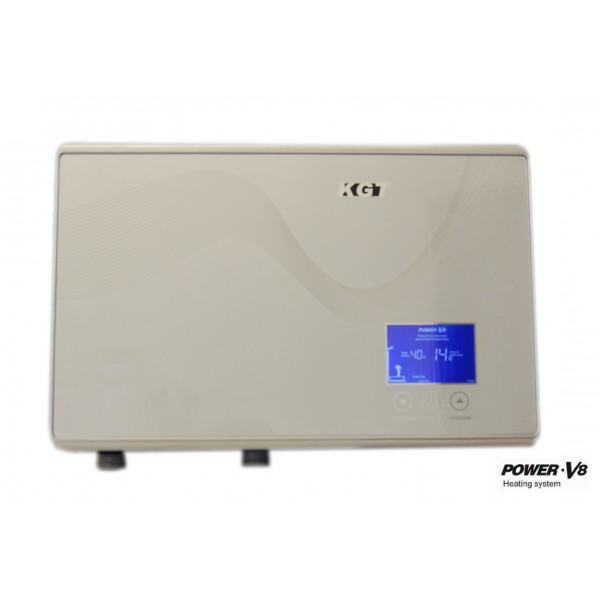 Chauffe eau instantan horizontal 8 8kw kgt r glage tactile douche lave main - Chauffe eau instantane douche ...