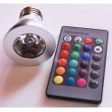 Ampoule à LED RGB avec Télécommande type E27
