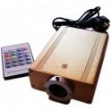 Kit Fibre optique noire haute puissance RGB 16W Skyled