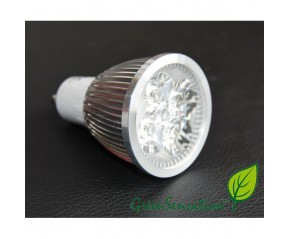 Ampoule à LED GU10  4w  4X1w haute intensité GreenSensation