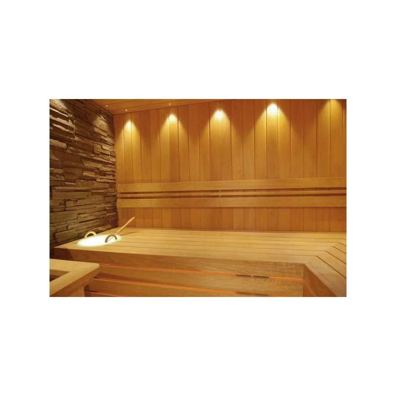 kit clairage pour sauna 12 led encastrer. Black Bedroom Furniture Sets. Home Design Ideas