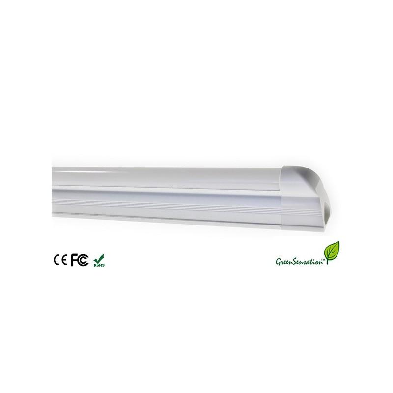 kit tube 120cm n on t5 sur support aluminium clairage conomique. Black Bedroom Furniture Sets. Home Design Ideas