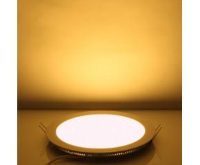 Panneau à LED rond 9w Blanc chaud 14.5cm